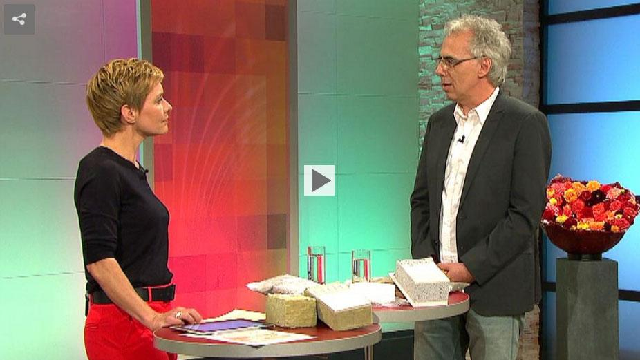 ARD Buffet Sendung mit Hans Weinreuter von der Verbraucherzentrale